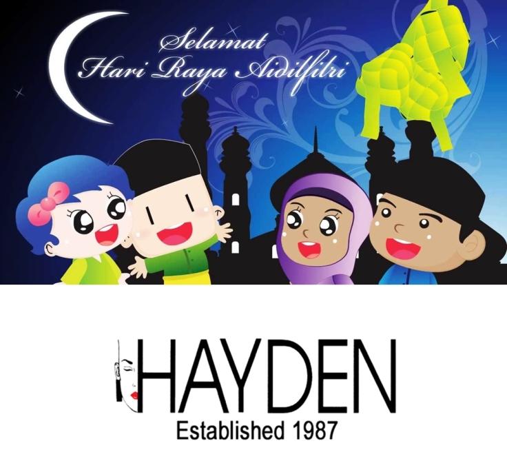 Selamat Hari Raya Aidilfitri 2015 HAYDEN